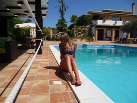 Piscina Villa Carlo Resort1